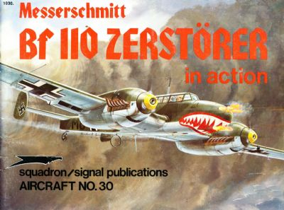 ME BF 110 ZERSTORER IN ACTION
